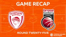 Highlights: Olympiacos Piraeus - Brose Bamberg