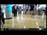 [14 07 03 뉴스투데이] 지하철역 침수   교통사고 잇따라