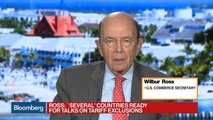 Wilbur Ross Says 'Several' Countries Ready to Negotiate on Tariffs