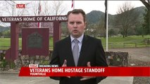 Police Haven't Reached Gunman with Hostages at Veterans Home in Northern California