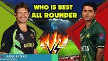 Shane Watson VS Abdul Razzaq ★★ Who is Best ALL ROUNDER..?? | Comment Ur Favorite. | Cricket Latest