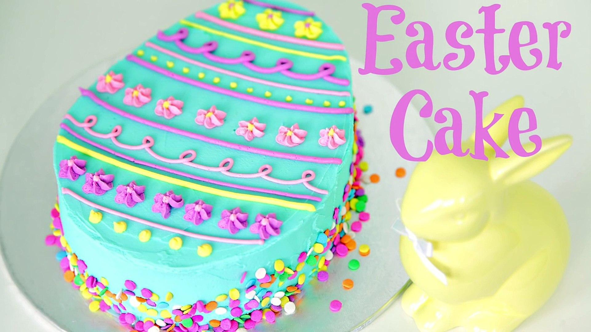 Easter Egg Cake Decorating - CAKE STYLE
