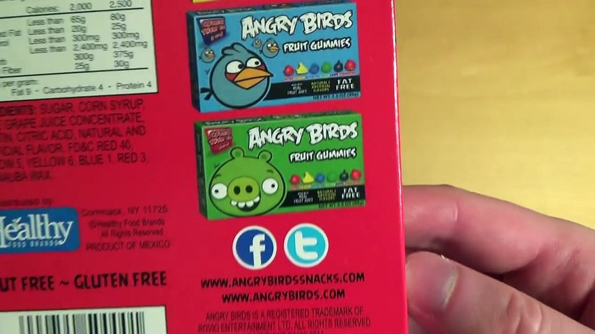 Angry Birds - Fruit Gummies