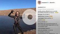 Clara Morgane nue dans son bain, Delphine Wespiser dans la boue et Kim Kardashian à table… Le best-of Instagram de la semaine