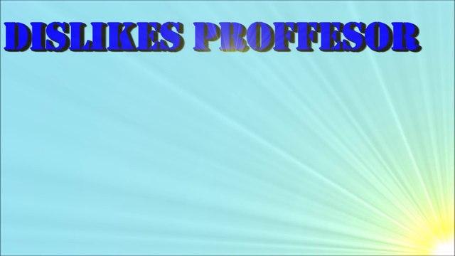 Inauguration of Dislikes Proffessor,Channel