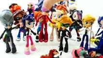 Miraculous Ladybug Toys Season 1 and Season 2 Custom Doll Review | Evies Toy Hou