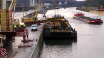 Vaulx: le pont-à-Ponts est arrivé sur le quai