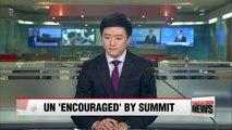 UN chief 'encouraged' by planned Trump-Kim summit