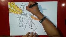 Goku & Piccolo VS Raditz | Special Beam Cannon | TolgArt