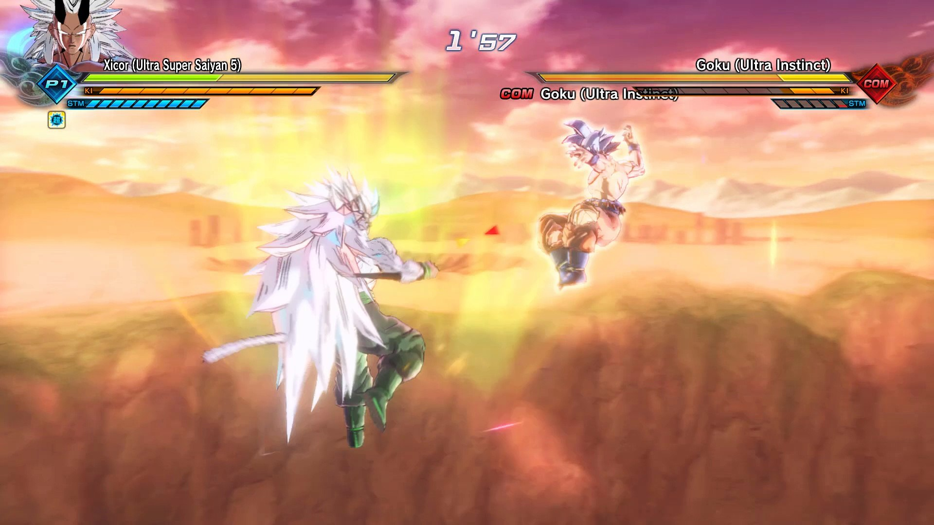 Xicor Ssj5 Vs Goku Mastered Ultra Instinct Video