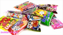 Candy BONANZA In-A-BAG! Snacks! SODA Ring POP! Juice TUBE! French Fries! Gummy Candy Stickers! FUN