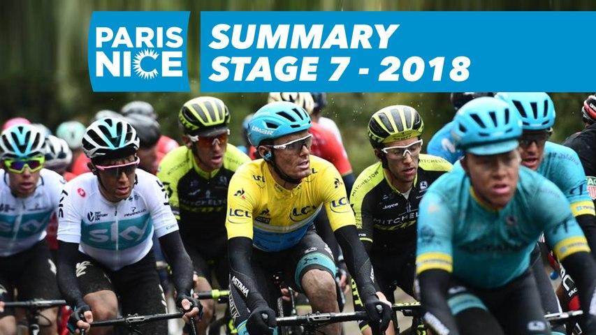 Summary - Stage 7 - Paris-Nice 2018