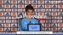 """Vidéo OM : """"Ce serait un rêve de jouer la Ligue des champions au Vélodrome avec l'OM"""" (Sakai)"""