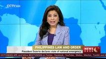 Philippine President Duterte declares state of national emergency