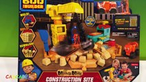 BOB EL CONSTRUCTOR SET DE CONSTRUCCION - BOB THE BUILDER MASH AND MOLD CONSTRUCTION SITE WENDY DIZZY
