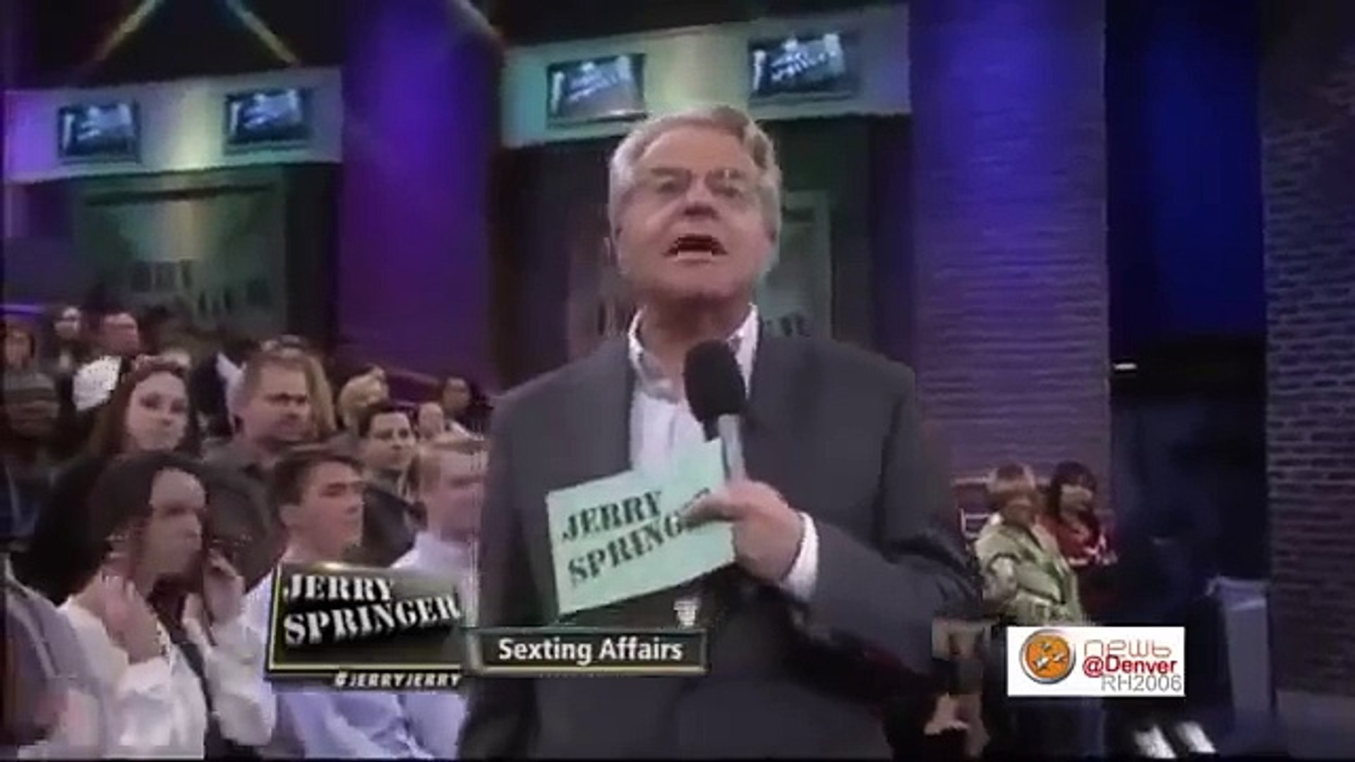 The Jerry Springer Show - Sexting Affairs