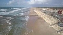 Sur le littoral atlantique, tempête après tempête, l'érosion menace de plus en plus les habitations