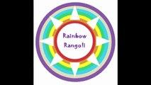 How to String Rose Petals garland || Easy Method to make garland Rose Petals || Rainbow Rangoli