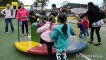 Playground Fun Outdoor Play Center Trampoline Water Slides Playhouse Best Slides |TheChildhoodLife