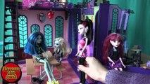 Школа Монстер Хай, серия 131, Кетти Нуар спряталась от всех, игрушки для девчонок