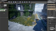 Unreal Engine 4: City Path Builder - Workflow - video dailymotion