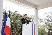 Discours du Président de la République, Emmanuel Macron à la communauté française d'Inde