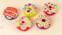 Play Doh Desserts. How to Make Play-Doh Donuts. Diy Play-Doh Donuts * Kids toys TV