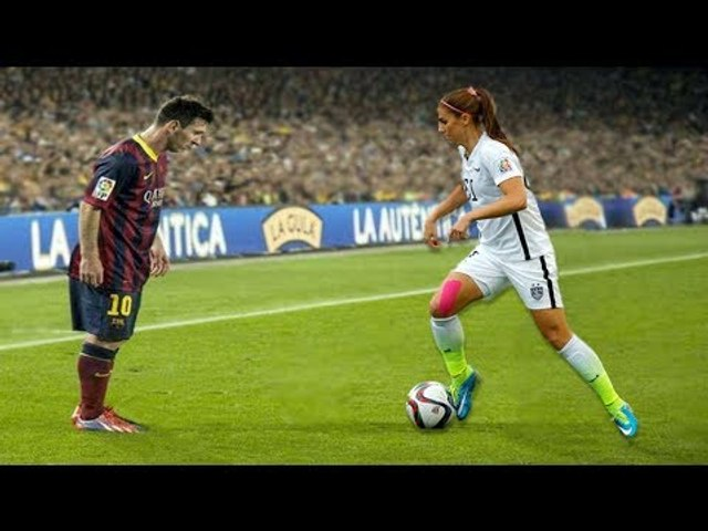 Women's In Football Skills • Goals • Tricks
