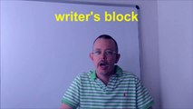 Learn English: Daily Easy English Expression 0427: writer's block