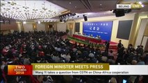 Chinese FM: China and Africa are brothers and partners
