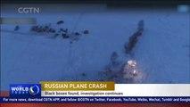 Russian plane crash: Black boxes found, investigation continues