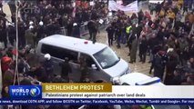 Palestinians protest against Greek Patriarch over land deals