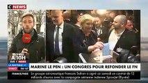 EN DIRECT : Marine Le Pen seule candidate, vient d'être réélue Présidente du parti lors du Congrès de Lille - Jean-Marie