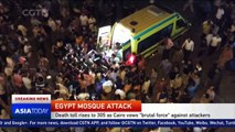 Egypt mosque attack: Death toll rises to 305 as Cairo vows 'brutal force' against attackers