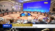 Russia, Turkey and Iran convene Syrian People's Congress