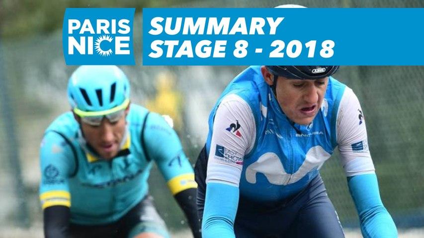 Summary - Stage 8 - Paris-Nice 2018