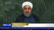 Rouhani says Iran does not tolerate threats from anyone
