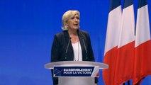 """Le Front national sera rebaptisé """"Rassemblement national"""", annonce Marine Le Pen"""