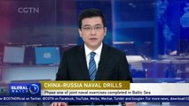 Chinese and Russian navies complete first stage of joint exercise in Baltic Sea