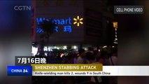 Knife-wielding man kills 2, wounds 9 in Shenzhen