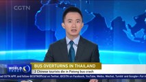 Two Chinese tourists killed, 24 injured in Thailand tour bus crash