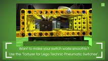 Lego Technic RC gearbox for pneumatic switches - Lego Technic MOC