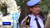 UN pays tribute to those who lost their lives for the sake of peace