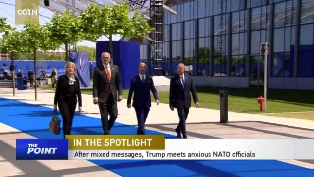 Trump's first NATO summit: burden sharing, other issues loom