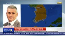 DPRK test fires another missile, reports Yonhap