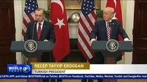 Trump, Erdogan vow to repair ties despite tensions over US arming Kurds