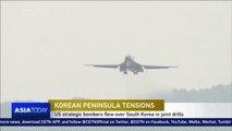 US bombers fly over Korean Peninsula during drills, angering DPRK