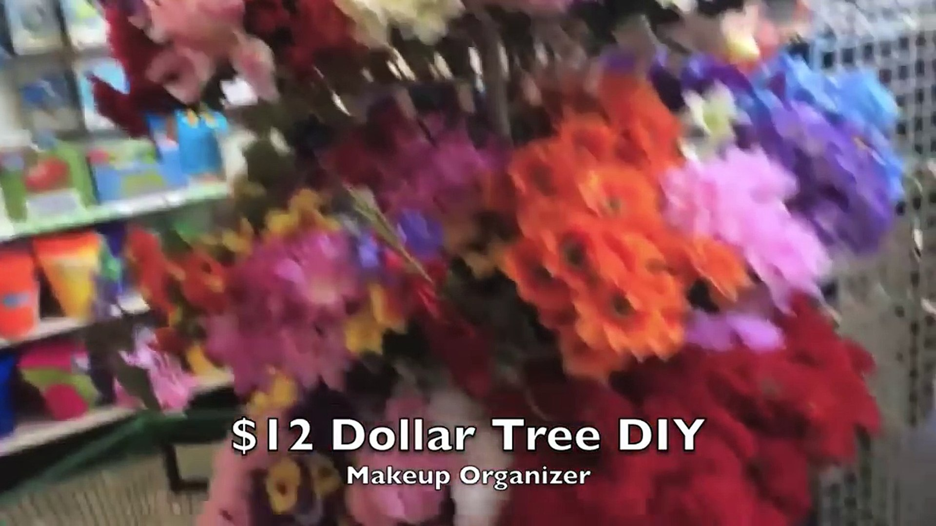 12 Diy Dollar Tree Makeup Organizer Affordable Vanity Storage Solution Video Dailymotion