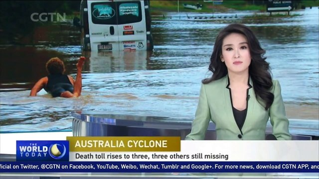 Australian flood leaves at least three dead with thousands stranded