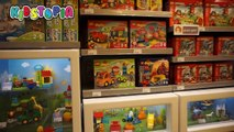 LEGO STORE Fun for Kids! We find Lego BATMAN, ANGRY BIRDS, and STARWARS!